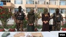 دو مهاجم انتحاری وابسته به داعش و طالبان