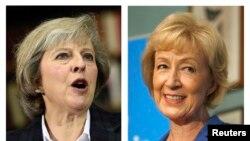 Theresa May (izquierda) y Andrea Leadsom son las dos candidatas finales para el puesto de Primera Ministra de Reino Unido.