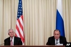 La rencontre entre les deux hommes à Moscou, le 12 avril 2017.