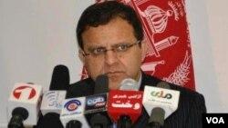 حضرت عمر زاخیلوال، وزیر مالیه افغانستان