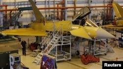 Xưởng sản xuat chiến đấu cơ Typhoon của công ty BAE