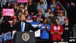 Donald Tramp na mitingu u Severnoj Karolini