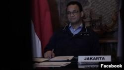 Đô trưởng Jakarta Anies Baswedan.