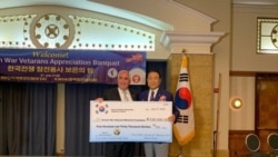 [뉴스풍경 오디오] 정전협정 기념일에 한국 민간단체 추모벽 건립 기금 전달
