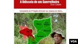 """Capa do livro """"Odisseia de um Guerrilheiro"""""""