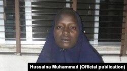 Serah Luka, umunyeshule w'umwigeme agira kabiri, yanyurujwe n'abarwanyi b'umurwi Boko Haram, yatabawe.