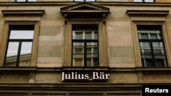 Kantor Pusat Bank Swasta Swiss, Julius Baer di Zurich (Foto: dok).