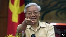 د ویتنام د کمونیست ګوند مشر نګیون فو ترانګ