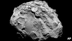 Snimak komete 67P/Čurjumov-Gerasimenko koju je napravila kamera sa Rozete, 3. avgust 2014.
