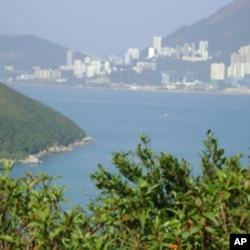 遥望香港岛