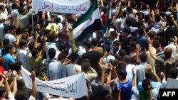 تظاهرات حمص در روز جمعه