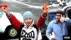Bloger Etibar Salmanlı və Azad Gənclik təşkilatının üzvü İlkin Rüstəmzadə
