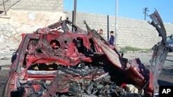 کربلا میں کار بم دھماکا، 7 افراد ہلاک