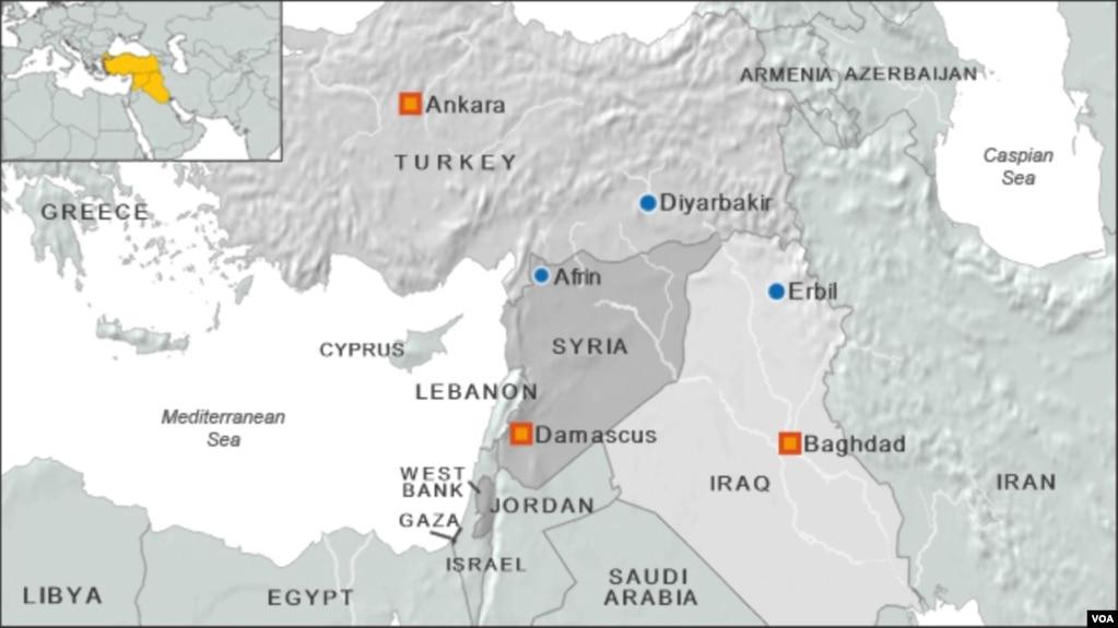 Kurdish Militia Accused of Killing Syrian Protesters