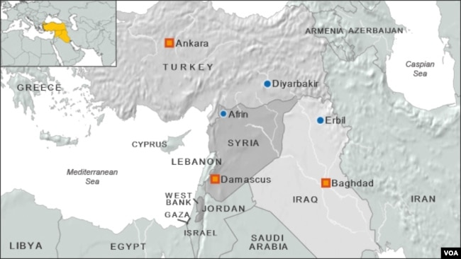 Military Drones Flood War Skies Over Syria Iraq - Map of iraq us military bases