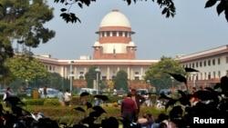 Gedung Mahkamah Agung India di New Delhi (Foto: dok).