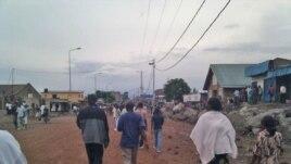 Gradjani kongoanskog grada Gome tokom zatišja u sukobima