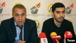 Nicat Əliyevin hüquqlarını ictimai müdafiə komitəsinin toplantısı