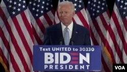 Demokrat Parti Kurultayında başkan adaylığı resmen ilan edilmesi beklenen eski Başkan Yardımcısı Joe Biden