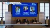 VOA60 America - 3 US-Based Economists Receive Economics Nobel Prize