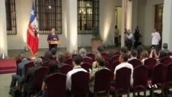 Weakening Economy to Test Bachelet's Social Reform Plans