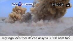 IS phá huỷ ngôi đền đế chế Assyria 3.000 năm tuổi (VOA60)