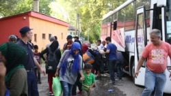 Migrants Thankful to Reach Serbia