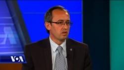 Ministri i Financave i Kosovës, Avdullah Hoti për VOA