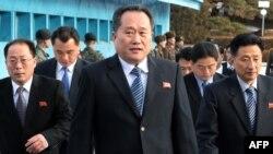 리선권 북한 외무상.