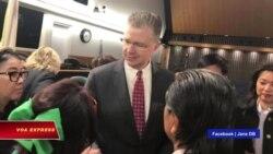 Đại sứ Mỹ: Nhân quyền là 'trọng tâm' trong quan hệ Mỹ-Việt