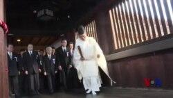 几十位日本国会议员参拜靖国神社