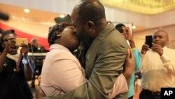 MP Joseph Chinotimba and wife, Vimbai.
