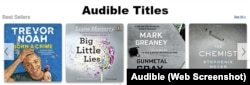 Audible Sample Titles