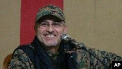레바논 무장정파 헤즈볼라의 무스타파 바드레딘 최고 군 사령관. (자료사진)