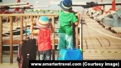 children travel