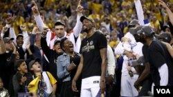 შეუდარებელი კევინ დურანტი NBA-ს ფინალის MVP გახდა