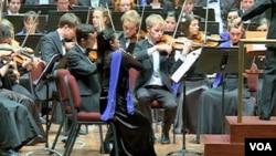 Orkestar mladih Evropske unije, Kennedy Center, travanj 2012