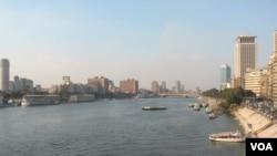 Sehemu ya mto Nile nchini Misri.