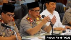 Kepala Kepolisian Republik Indonesia, Jenderal Tito Karnavian (tengah/foto. dok).