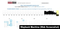 Wayback Machine Search Results