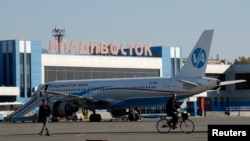 러시아 블라디보스토크 공항. (자료사진)