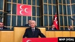 MHP lideri Devlet Bahceli