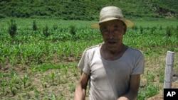 甘肃农民和田地 工农业都大量用水