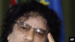 利比亞前領導人卡扎菲 (資料圖片)