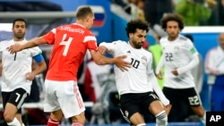 تیم های روسیه و مصر