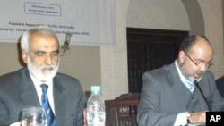 سروے کے اجرا کی تقریب میں موجودہ پائیڈ کے عہدیدار جی ایم عارف