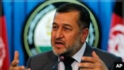 阿富汗内政部长比斯米拉·汗(资料照)