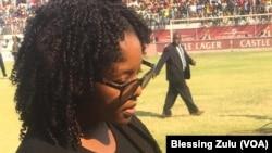Bona Mugabe-Mutsahuni, daughter of of the late former President Robert Mugabe.