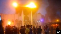 اعتراضات مردم در بصرۀ عراق از پنج روز به این سو ادامه دارد
