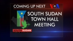 South Sudan Town Hall: The Peace Process